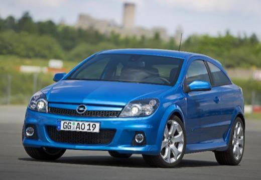OPEL Astra III GTC II hatchback niebieski jasny przedni lewy