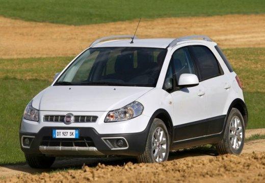 FIAT Sedici II kombi biały przedni lewy