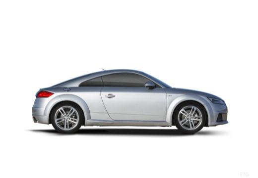 AUDI TT III coupe boczny prawy