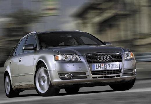 AUDI A4 Avant 8E II kombi silver grey przedni prawy