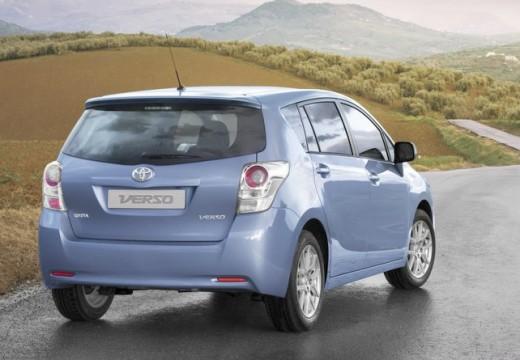 Toyota Verso kombi mpv silver grey tylny prawy