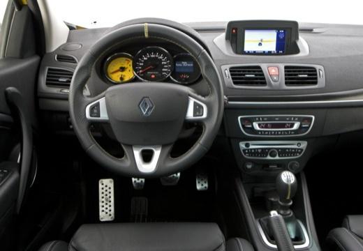 RENAULT Megane III Coupe I hatchback żółty tablica rozdzielcza