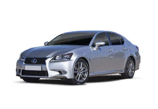 LEXUS GS IV sedan silver grey