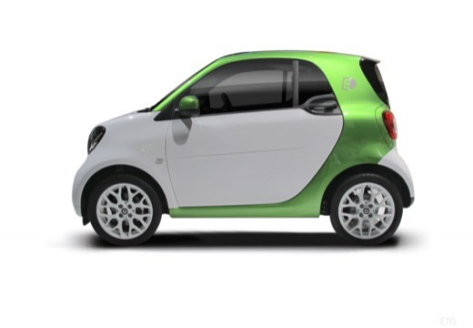 SMART fortwo I hatchback boczny lewy