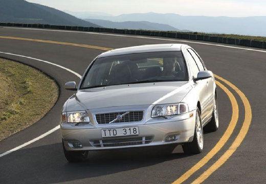 VOLVO S80 sedan silver grey przedni lewy