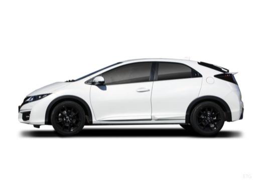 HONDA Civic hatchback boczny lewy