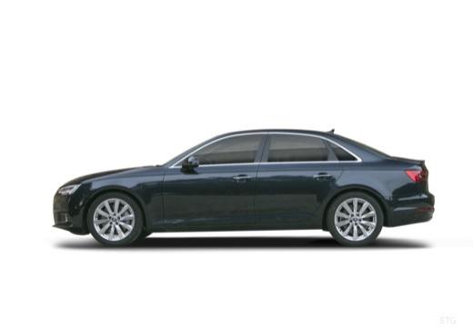 AUDI A4 I sedan boczny lewy