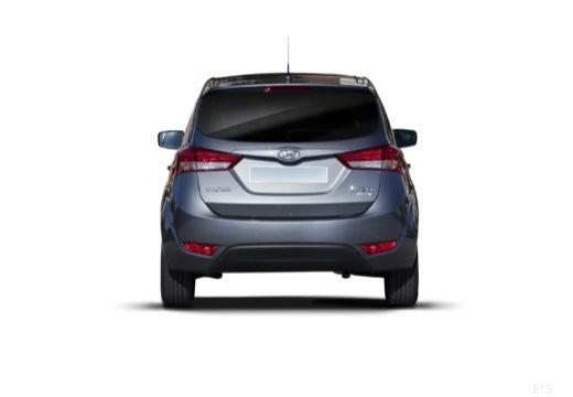 HYUNDAI ix20 hatchback szary ciemny tylny