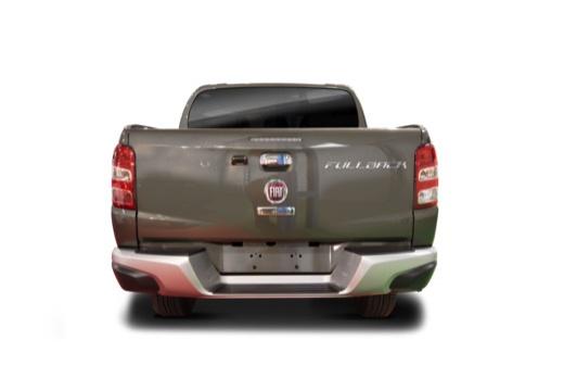 FIAT Fullback pickup szary ciemny tylny