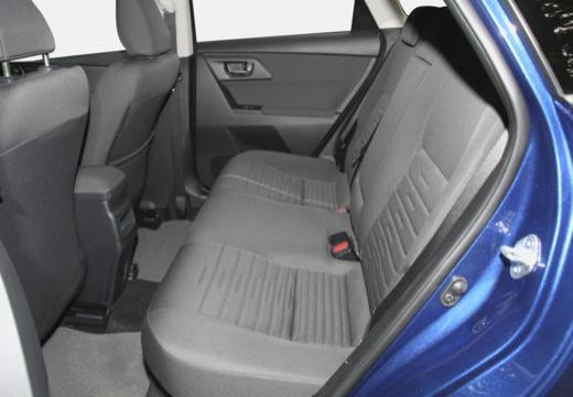 Toyota Auris TS II kombi niebieski jasny wnętrze