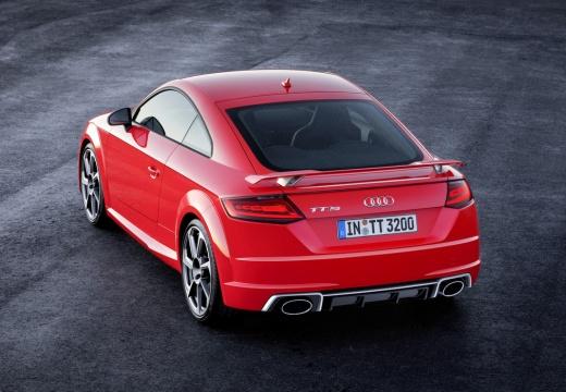 AUDI TT III coupe czerwony jasny górny tylny