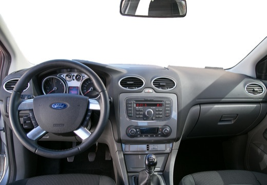 FORD Focus IV sedan silver grey tablica rozdzielcza