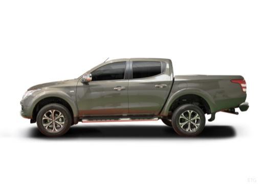 FIAT Fullback pickup szary ciemny boczny lewy
