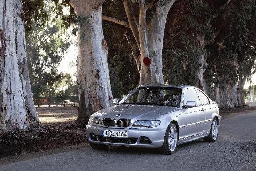 BMW Seria 3 E46/2 coupe silver grey przedni lewy