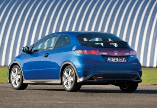 HONDA Civic VI hatchback niebieski jasny tylny lewy