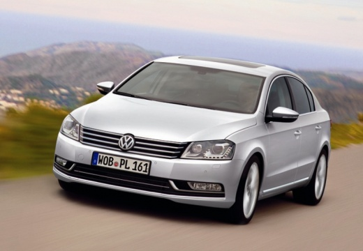 VOLKSWAGEN Passat VI sedan silver grey przedni lewy