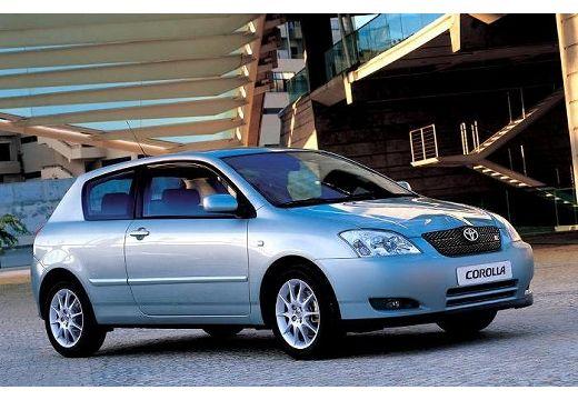 Toyota Corolla VI hatchback silver grey przedni prawy