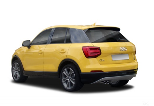 AUDI Q2 hatchback tylny lewy