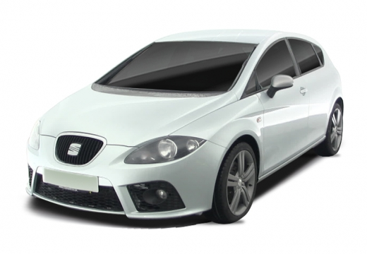 SEAT Leon II hatchback biały