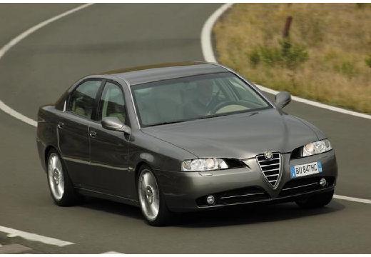 ALFA ROMEO 166 sedan szary ciemny przedni prawy