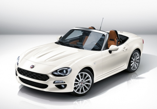 FIAT 124 1.4 MultiAir Lusso Kabriolet Spider 140KM (benzyna)