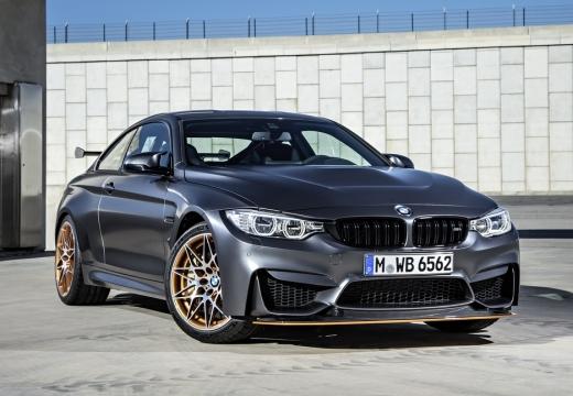 BMW Seria 4 F32 coupe szary ciemny przedni prawy