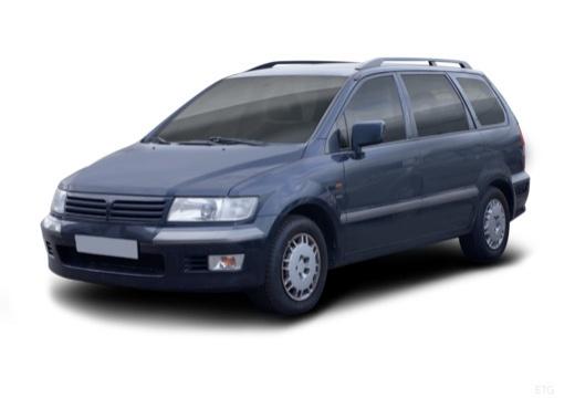 MITSUBISHI Space Wagon III van niebieski jasny przedni lewy