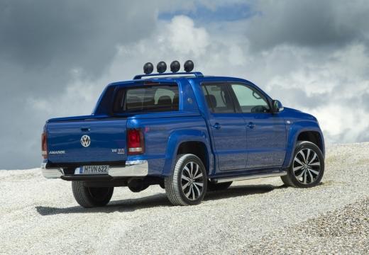 VOLKSWAGEN Amarok II pickup niebieski jasny tylny prawy