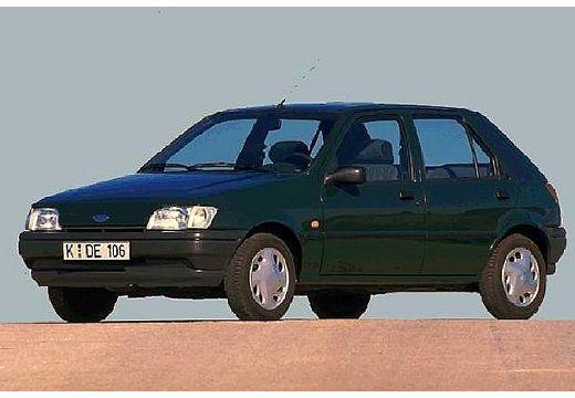 FORD Fiesta II hatchback zielony przedni lewy