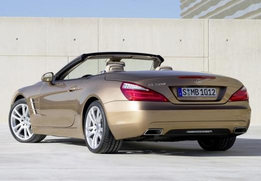 MERCEDES-BENZ Klasa SL roadster brązowy tylny lewy