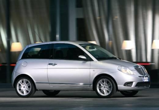 LANCIA Ypsilon II hatchback silver grey przedni prawy