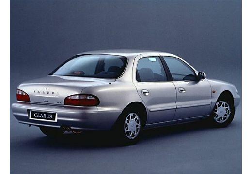 KIA Clarus sedan silver grey tylny prawy