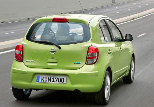 NISSAN Micra VIII hatchback zielony tylny prawy