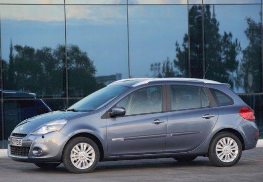 RENAULT Clio III Grandtour II kombi niebieski jasny przedni lewy
