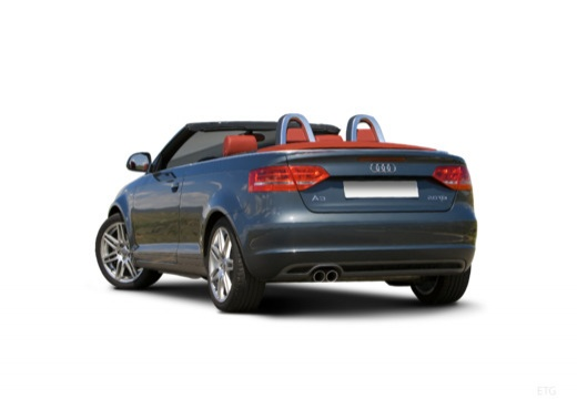 AUDI A3 Cabriolet kabriolet tylny lewy