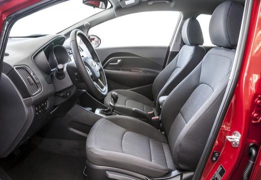 KIA Rio VI hatchback wnętrze