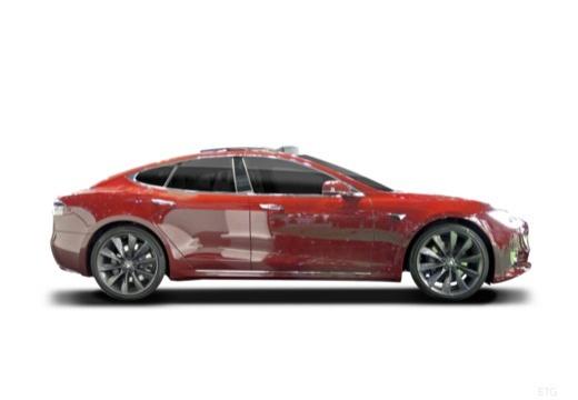 TESLA Model S II hatchback boczny prawy