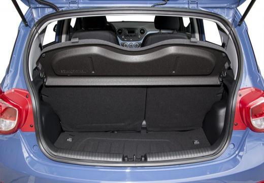 HYUNDAI i10 III hatchback niebieski jasny przestrzeń załadunkowa