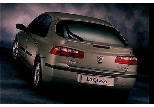 RENAULT Laguna II I hatchback silver grey tylny lewy