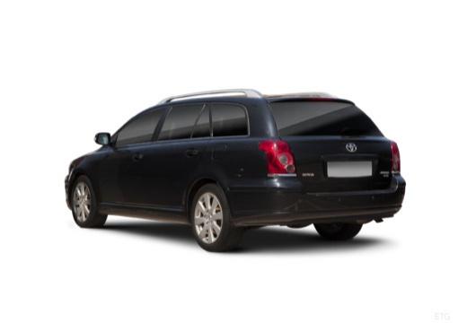 Toyota Avensis IV kombi czarny tylny lewy