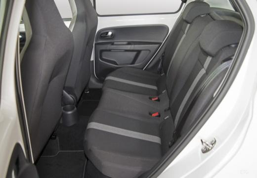 VOLKSWAGEN up hatchback biały wnętrze
