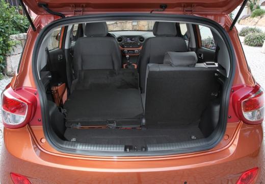 HYUNDAI i10 III hatchback przestrzeń załadunkowa