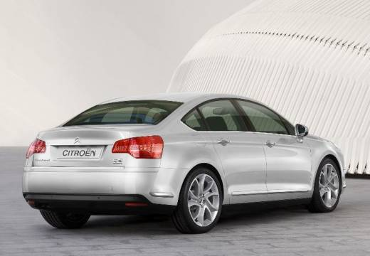 CITROEN C5 III sedan silver grey tylny prawy