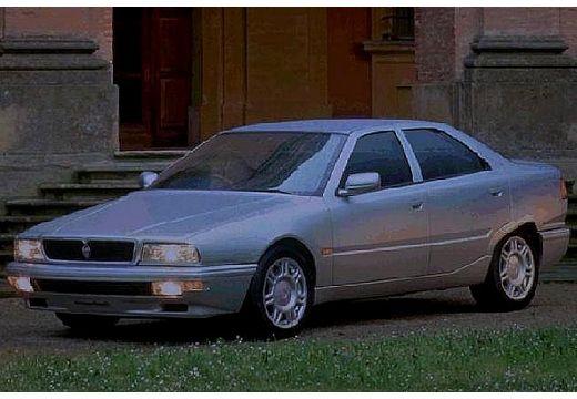 MASERATI Quattroporte I sedan silver grey przedni lewy