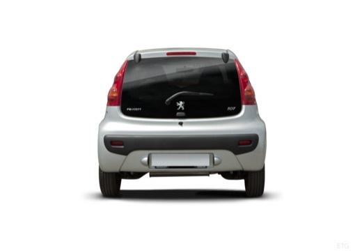 PEUGEOT 107 II hatchback tylny