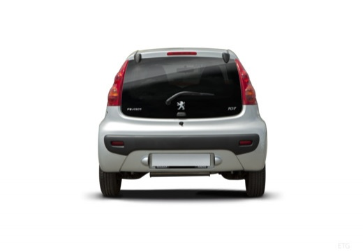 PEUGEOT 107 hatchback tylny