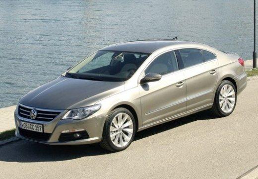 VOLKSWAGEN Passat CC sedan silver grey przedni lewy