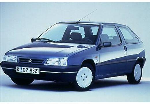 CITROEN ZX I hatchback niebieski jasny przedni lewy
