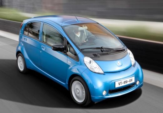 PEUGEOT iOn hatchback niebieski jasny przedni prawy