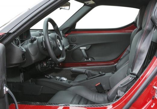 ALFA ROMEO 4C coupe wnętrze